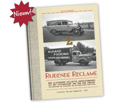 Cover boek rijdende reclame